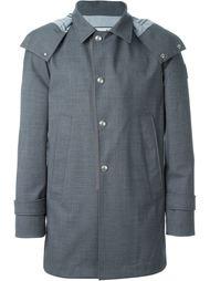 пальто с капюшоном  Moncler Gamme Bleu