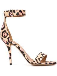 леопардовые босоножки Givenchy