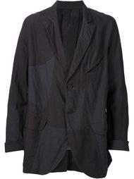 пиджак лоскутного кроя Ziggy Chen