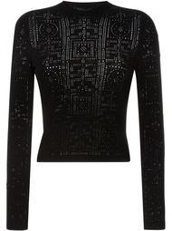 укороченный свитер Versace