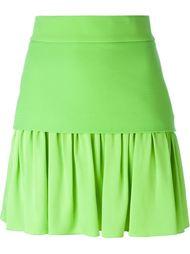 юбка мини с оборкой Fausto Puglisi