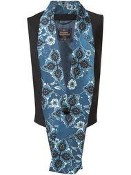 жилет с удлиненным воротником-шалькой Vivienne Westwood Man