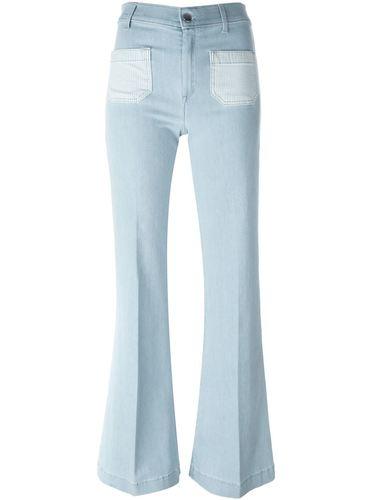 расклешенные джинсы  The Seafarer