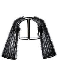 укороченная куртка из тюля Comme Des Garçons Noir Kei Ninomiya