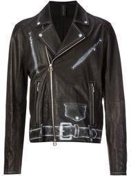 байкерская куртка с принтом Miharayasuhiro