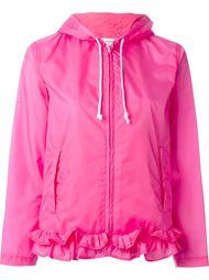 куртка с капюшоном и рюшами Comme Des Garçons Girl