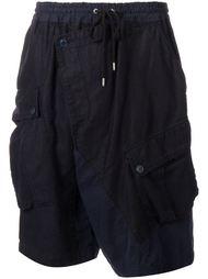 шорты с запахом свободного кроя  Miharayasuhiro
