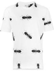 футболка с принтом муравьев Paul Smith