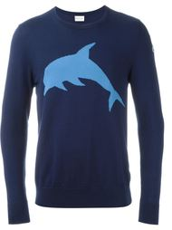 свитер с изображением дельфина Moncler