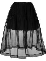 юбка миди из тюля Simone Rocha