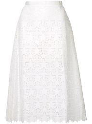 юбка с резным узором в звезды Sacai