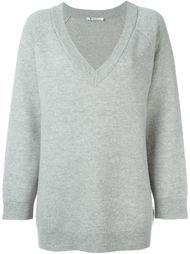 свитер c V-образным вырезом  T By Alexander Wang