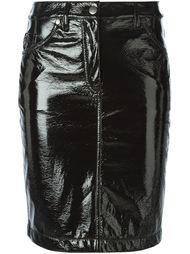 лакированная юбка Wanda Nylon X Tom Greyhound Wanda Nylon