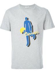 футболка с принтом Carven