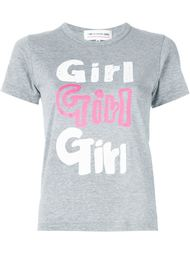 футболка с принтом 'Girl' Comme Des Garçons Girl