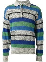 полосатая рубашка поло Missoni Vintage