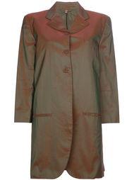 пальто с отблеском Romeo Gigli Vintage