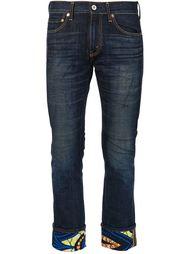 джинсы с отворотами Junya Watanabe Comme Des Garçons Man