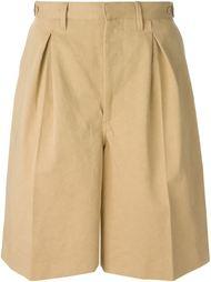 широкие шорты со складками Off-White
