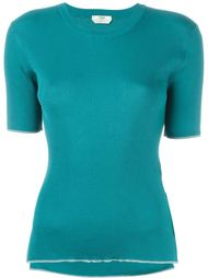 футболка в рубчик  Fendi