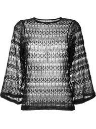 ажурный свитер с широкими рукавами  Isabel Marant