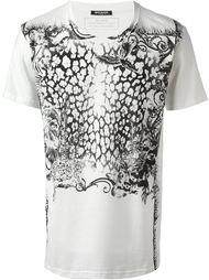 футболка с тропическимпринтом Balmain