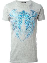 футболка с принтом двух индейцев Balmain