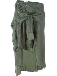 асимметричная юбка рубашечного кроя Faith Connexion