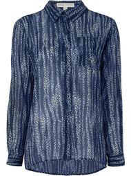рубашка с мелким узором Michael Michael Kors