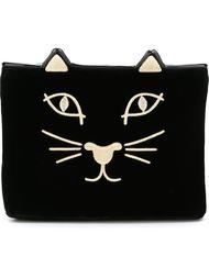 клатч 'Feline' Charlotte Olympia