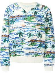 свитер с принтом пальм Faith Connexion
