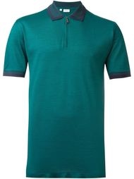 футболка-поло на молнии  Brioni
