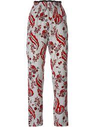 брюки с цветочным принтом  Vanessa Bruno
