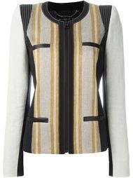 пиджак на молнии с панельным дизайном Barbara Bui
