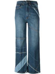 укороченные джинсы с панельным дизайном  Marc By Marc Jacobs