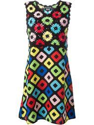 платье с вязаным топом Boutique Moschino
