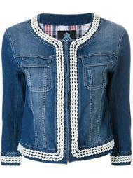 джинсовая куртка с отделкой из искусственного жемчуга Guild Prime