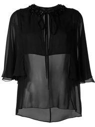 декорированная  блузка  Elie Saab
