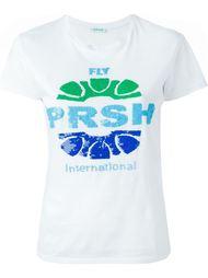 футболка с пайетками P.A.R.O.S.H.