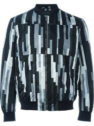 куртка-бомбер в вертикальную полоску Christopher Kane