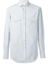 рубашка в полоску  Salvatore Piccolo