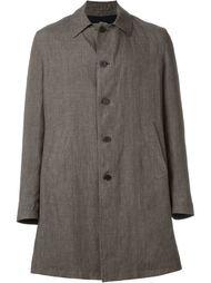 однобортное пальто в клетку Lardini