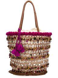 большая сумка-тоут 'Fiji Tuk Tuk' Figue
