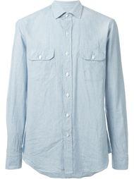 рубашка с накладными карманами  Salvatore Piccolo
