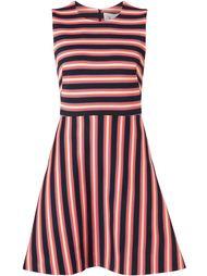 расклешенное полосатое платье Novis