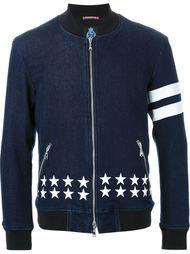 джинсовая куртка с принтом звезд Guild Prime