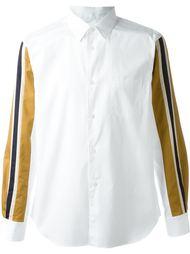 рубашка с контрастными рукавами  Comme Des Garçons Shirt Boy