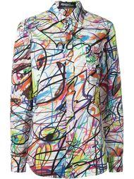 рубашка с графическим принтом Jeremy Scott
