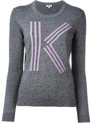 свитер с контрастными полосками Kenzo