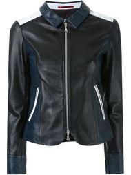 куртка на молнии дизайна колор-блок Loveless